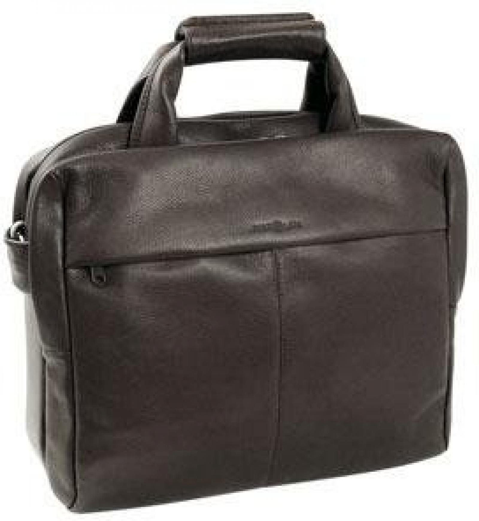 Harolds Country Aktentasche Leder 38 cm Laptopfach