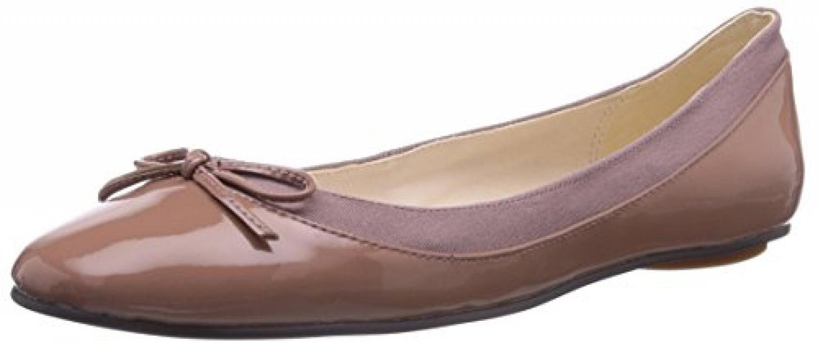 Buffalo London 207-3562 PATENT LEATHER Damen Geschlossene Ballerinas