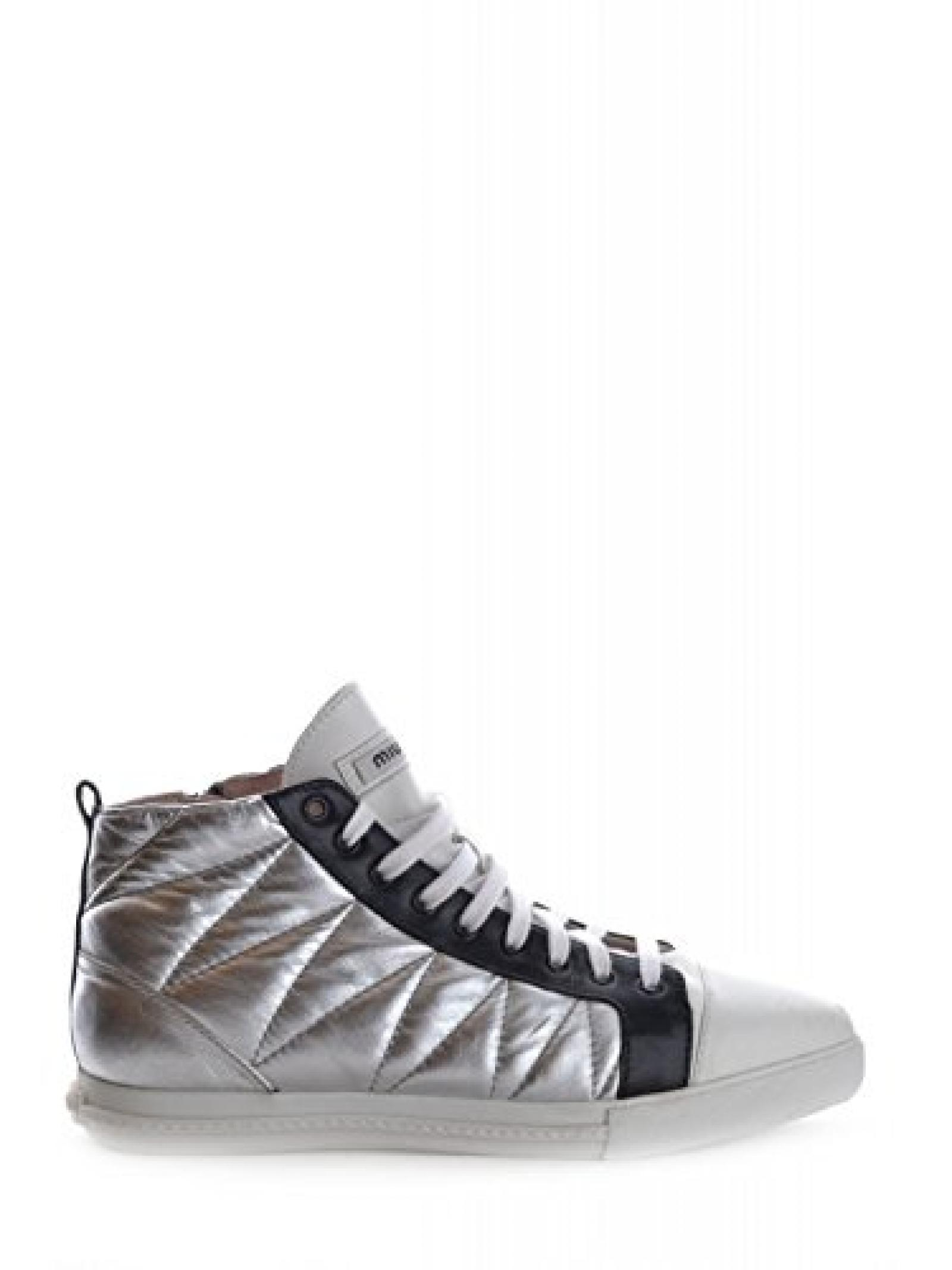 Schuhe pt731 Miu Miu Donna Silber