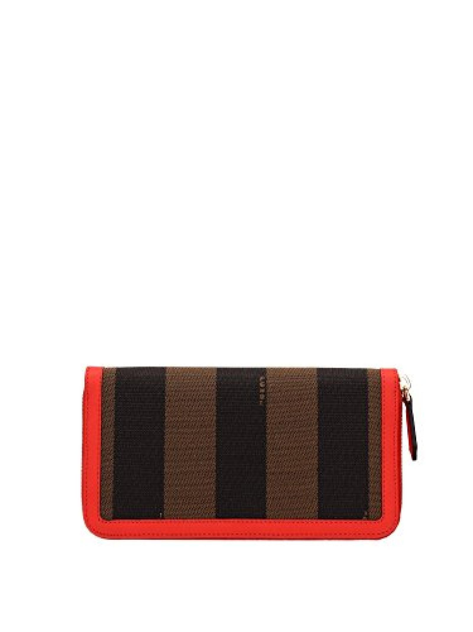 8M029900Q0ZF0H6F Fendi Brieftaschen Damen Stoff