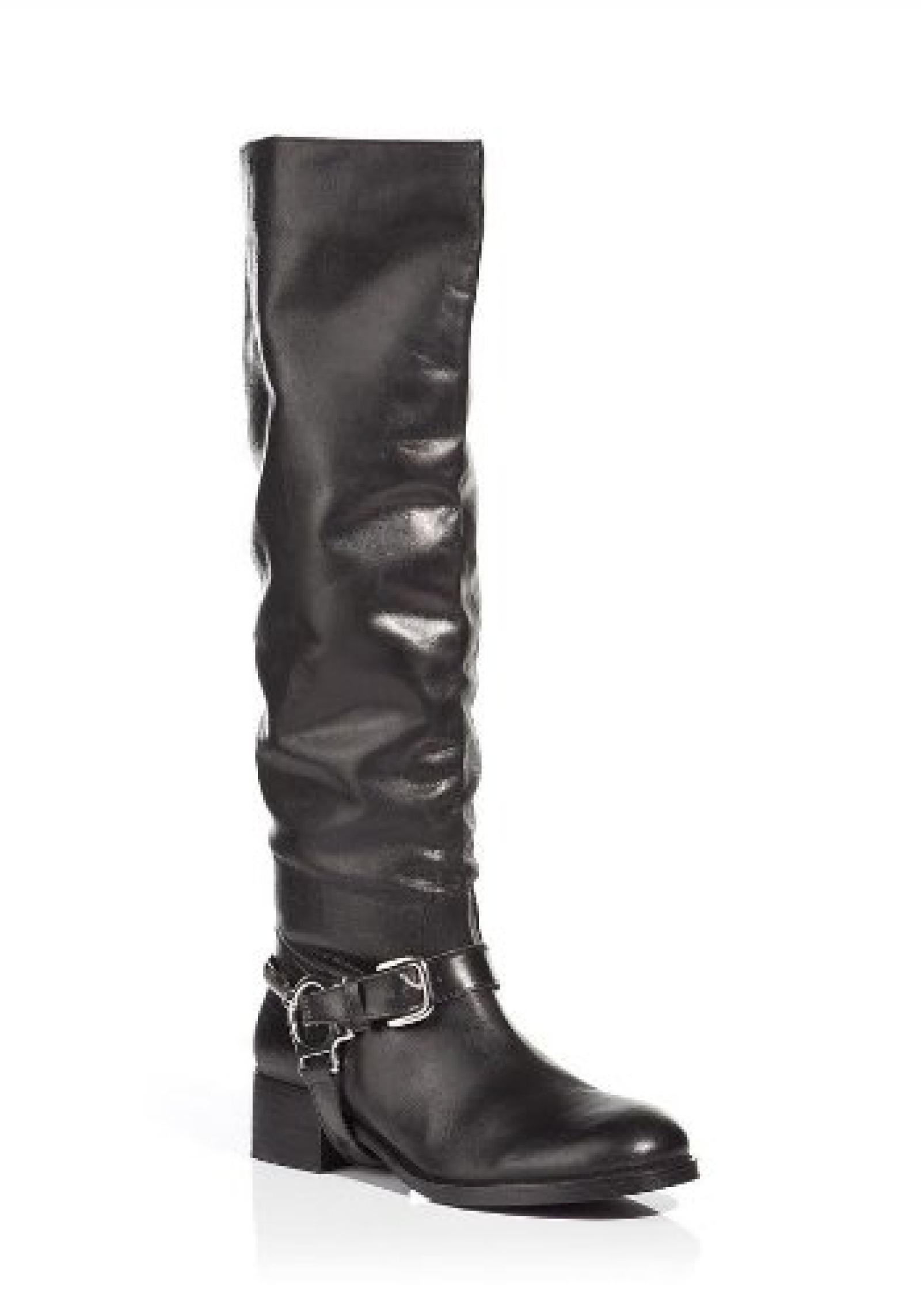 APART Damen-Schuhe Stiefel Schwarz