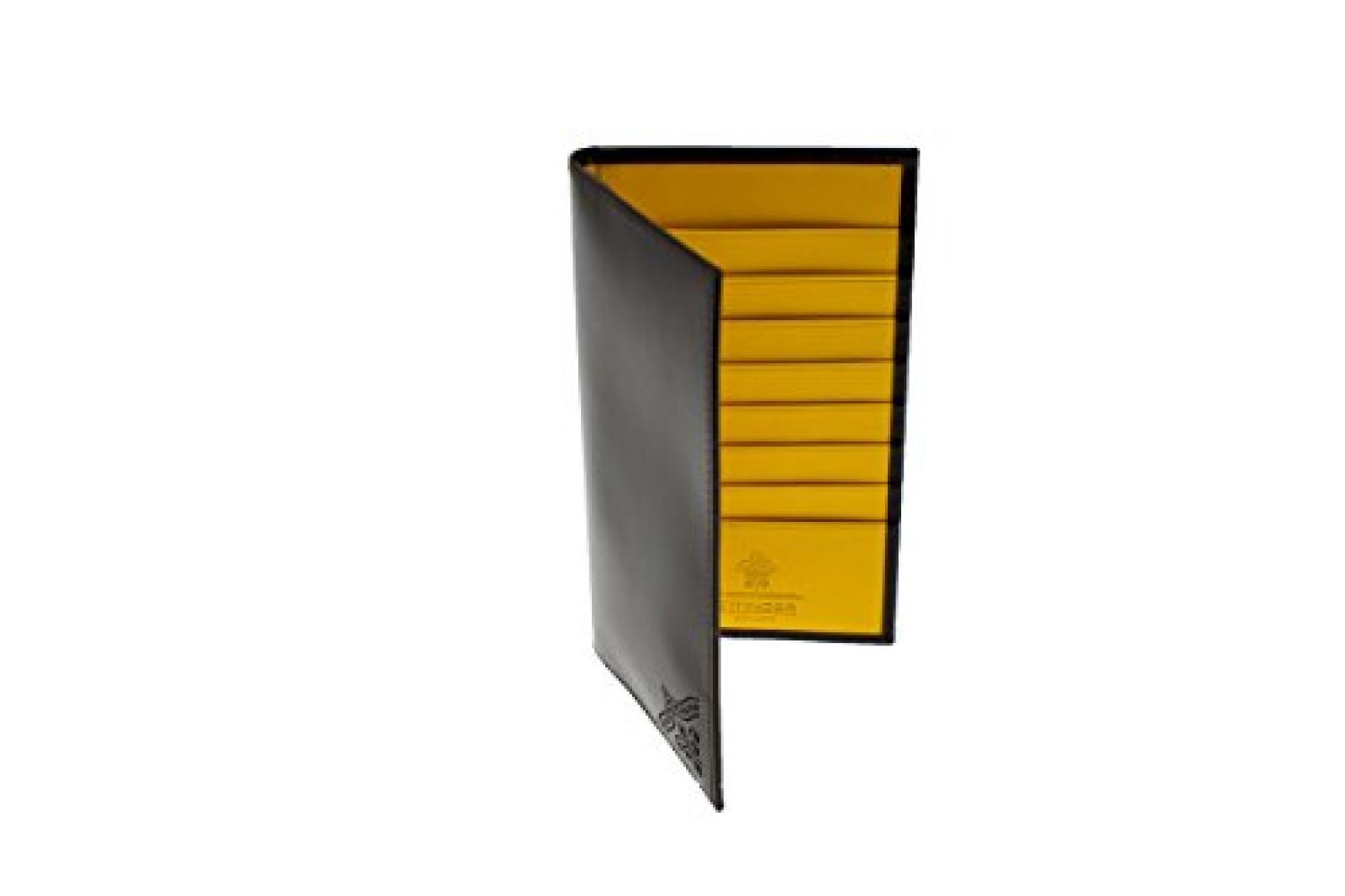 Ettinger Brogue Collection - Brieftasche aus Leder - Nussbraun/Hellbraun