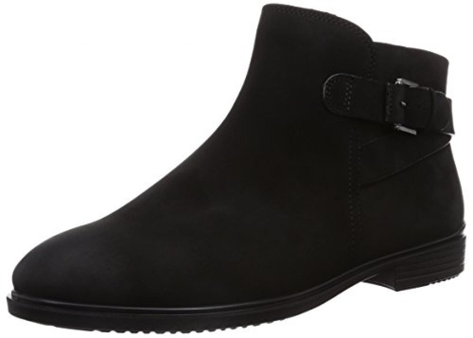 Ecco Touch 15 B Black Panama Damen Chelsea Boots