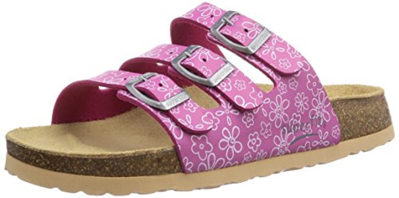 Superfit FUSSBETTPANTOFFEL 4001 Mädchen Pantoffeln