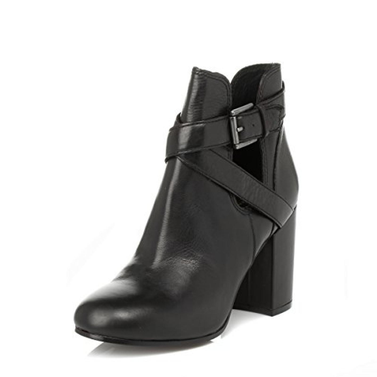 Ash Damen schwarz Famous Leder Boots