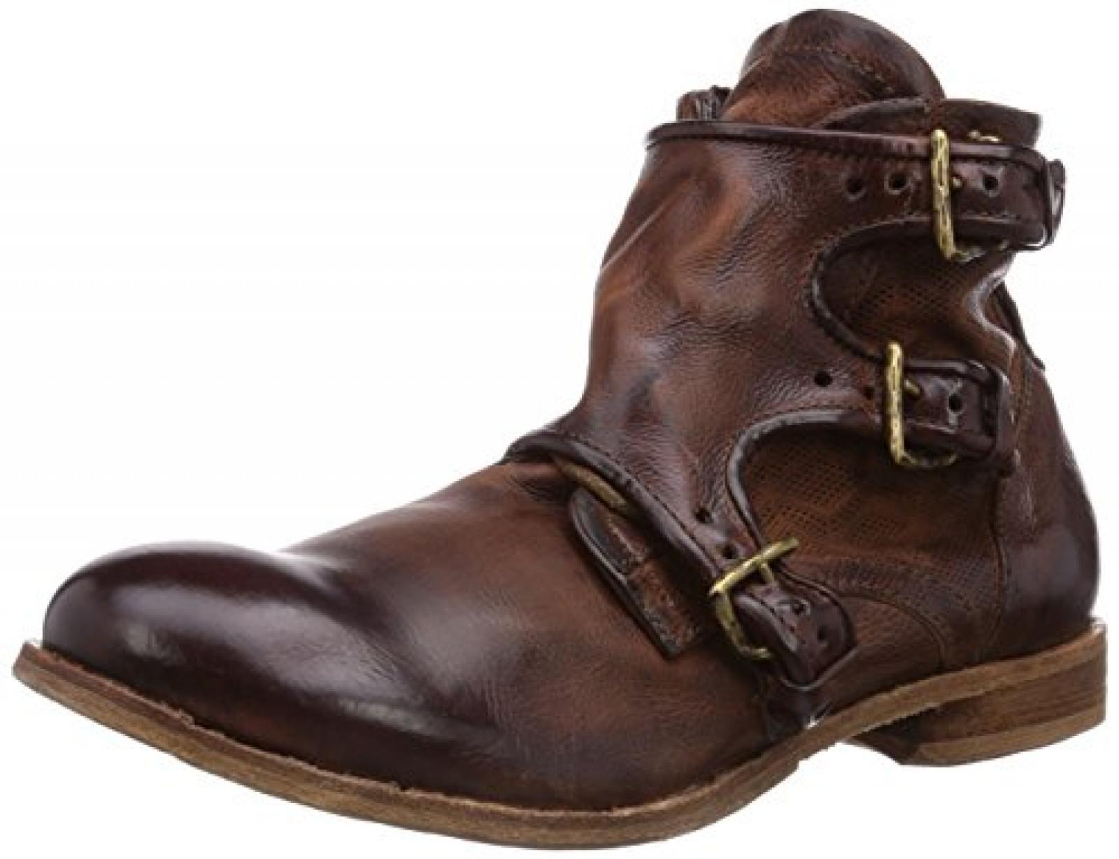 A.S.98 487202-2990-6206 Herren Biker Boots