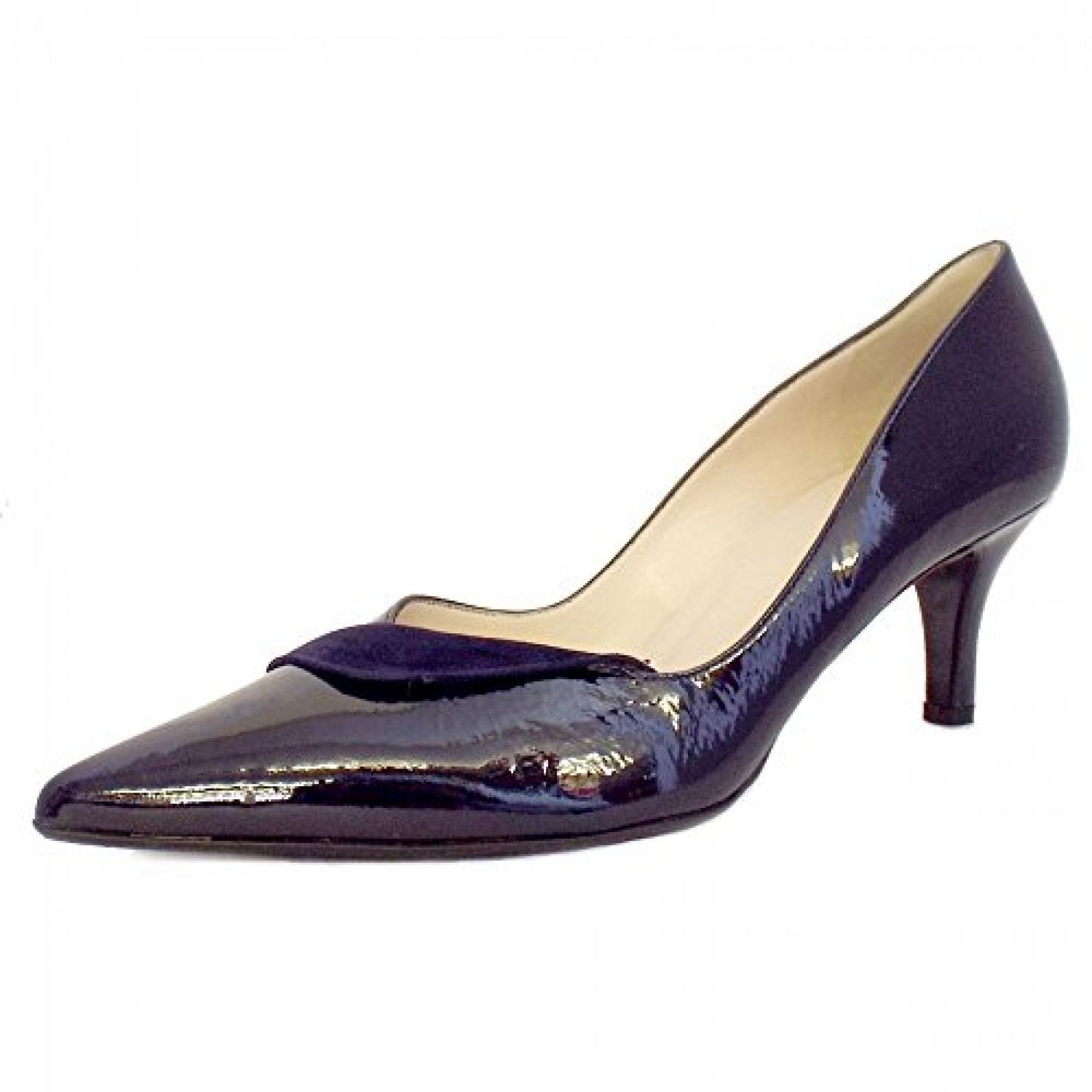Peter Kaiser Soralia Damen High Heels Schuhe Navy Knistern Patent