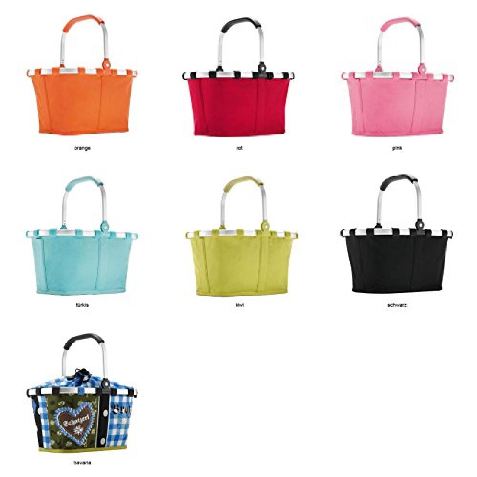 Reisenthel carrybag XS - Einkaufskorb Picknickkorb Henkelkorb XS - Farbe , Dekor zur Auswahl