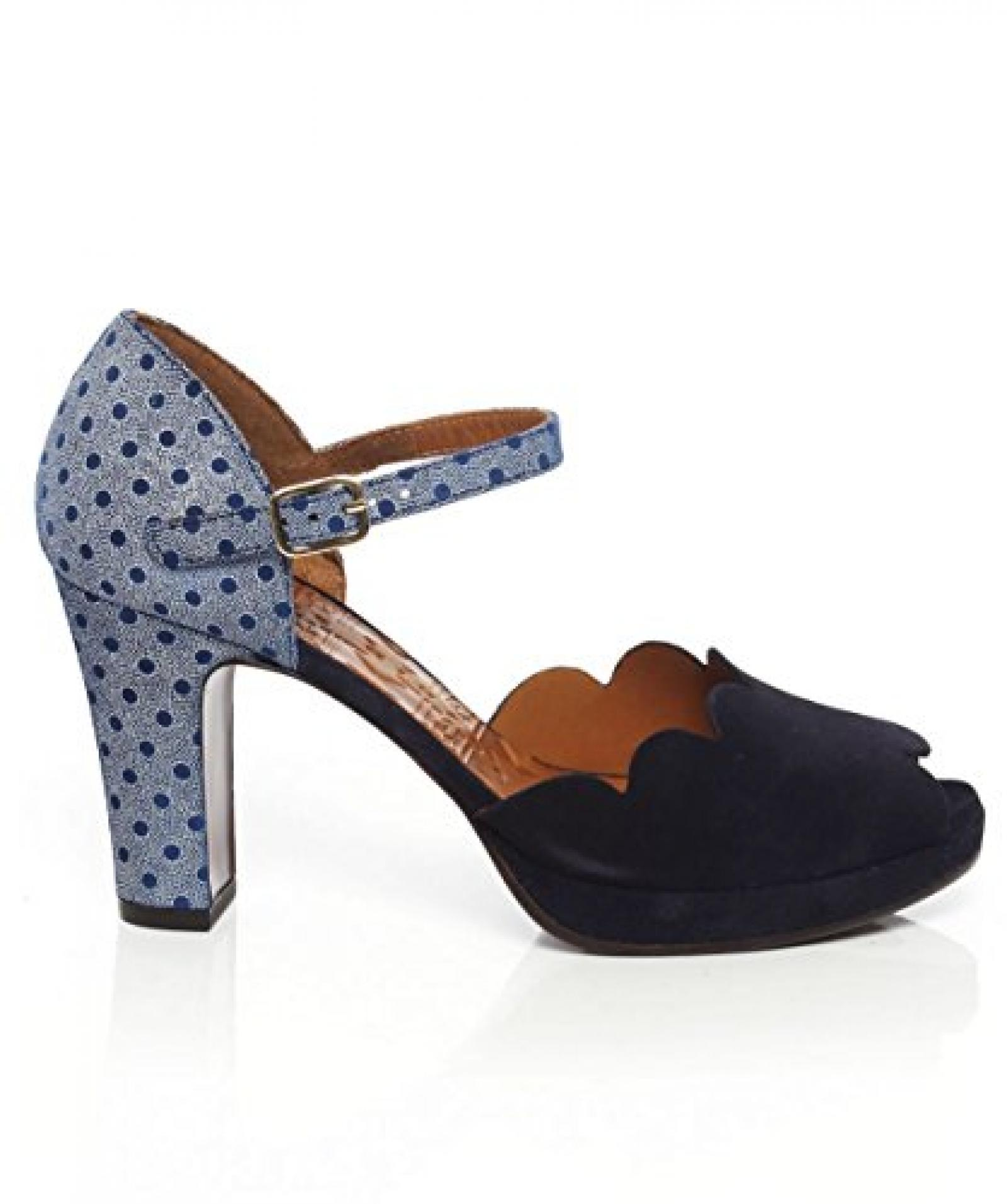 Chie Mihara Nadila Heels entdeckt Blau