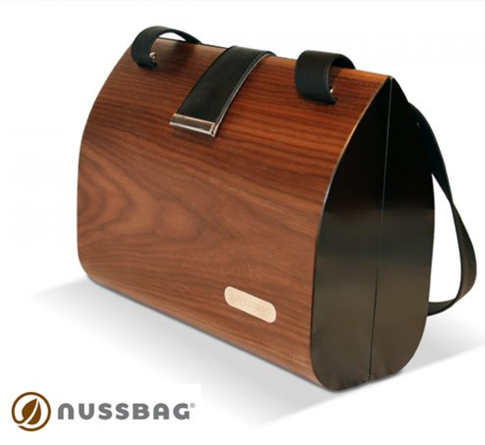 edle Handtasche von Nussbag, Modell Classic Nuss