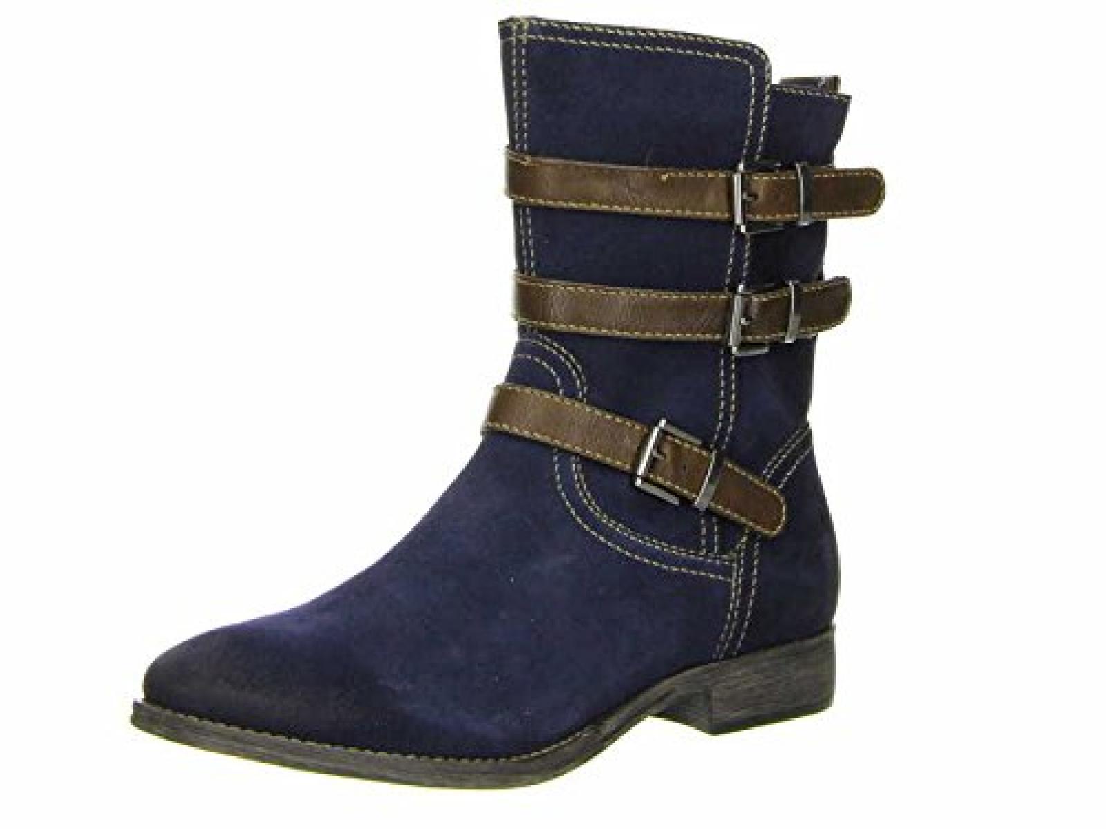 Tamaris 25368, Damen Biker Boots
