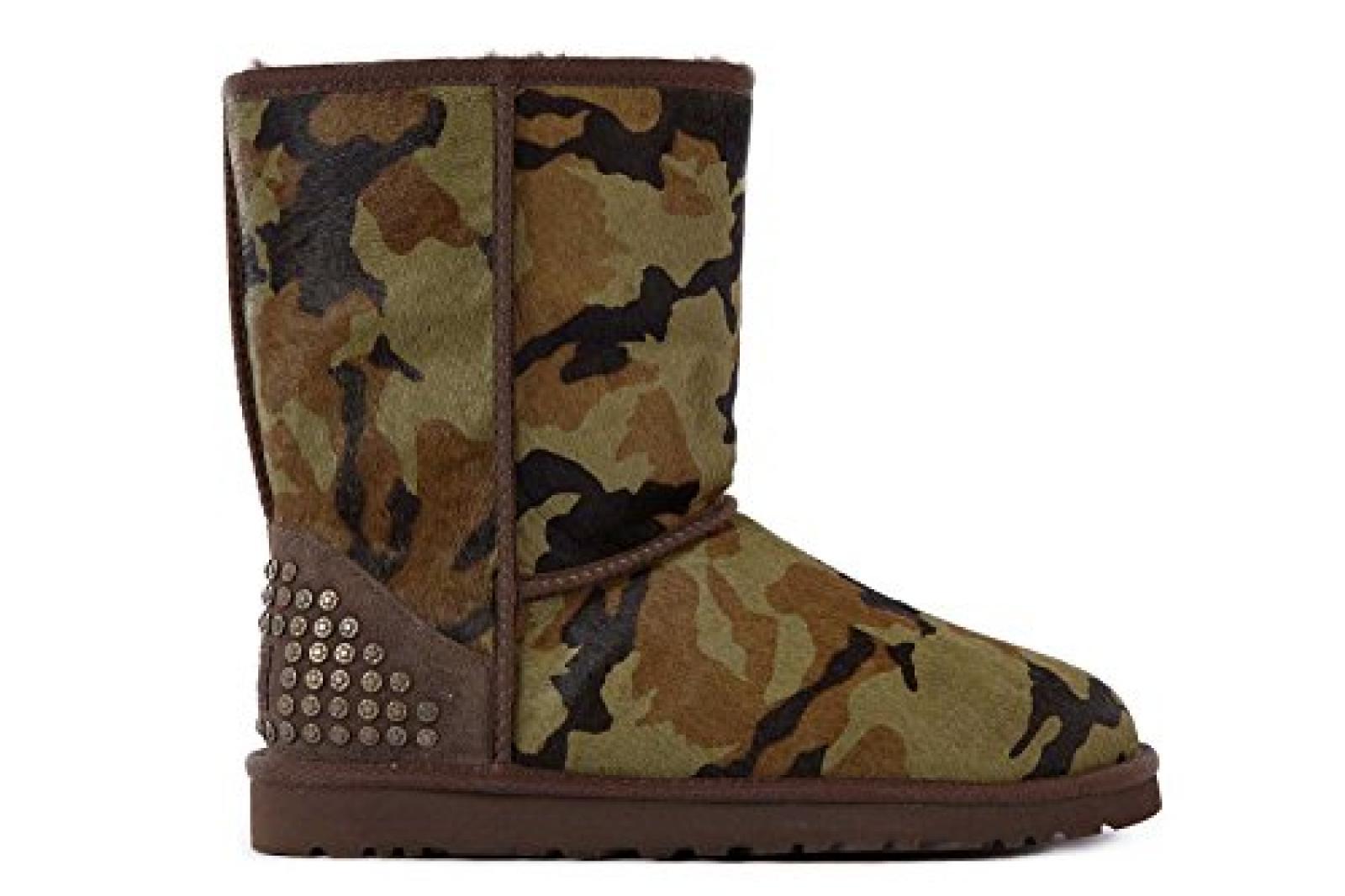 UGG Damen Wildleder Stiefel Boots rowland Grün