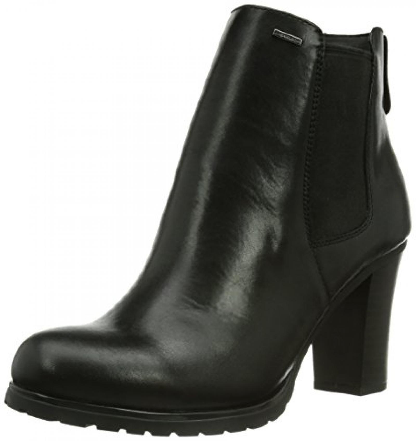 Geox Donna Trish D44Y1B00043C9999 Damen Kurzschaft Stiefel