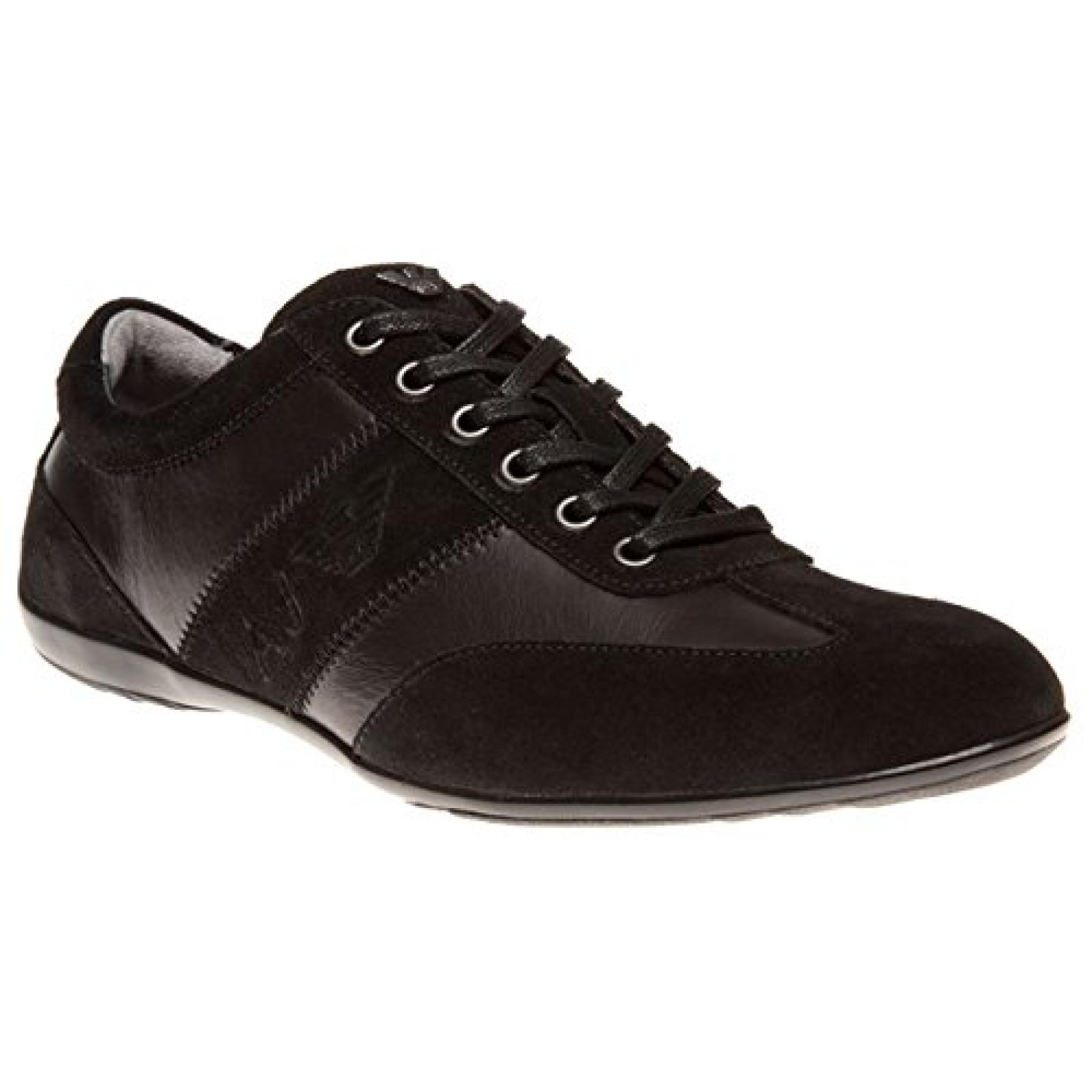 armani jeans formal sneaker herren schuhe schwarz b00ohumrri. Black Bedroom Furniture Sets. Home Design Ideas