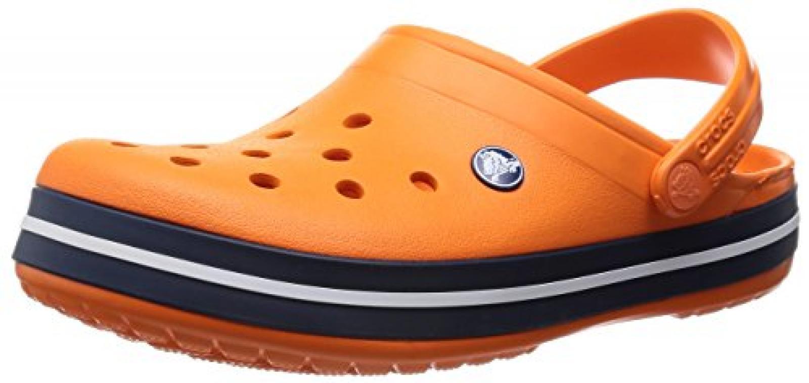 crocs Crocband K Cntn/GGw C8/9 Unisex-Kinder Clogs