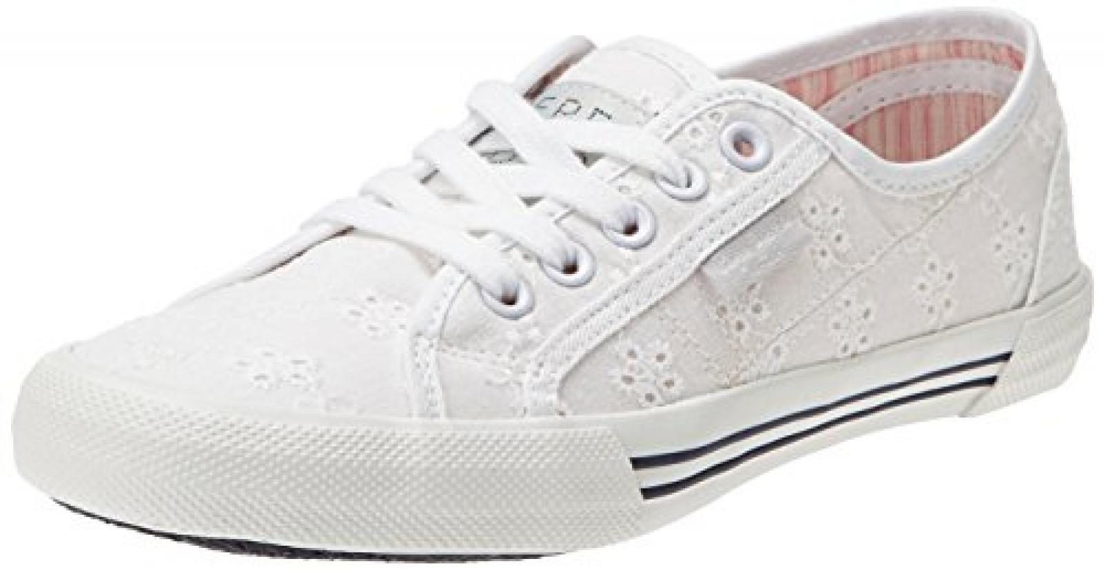 Pepe Jeans London ABERLADY ANGLAISE Damen Sneakers