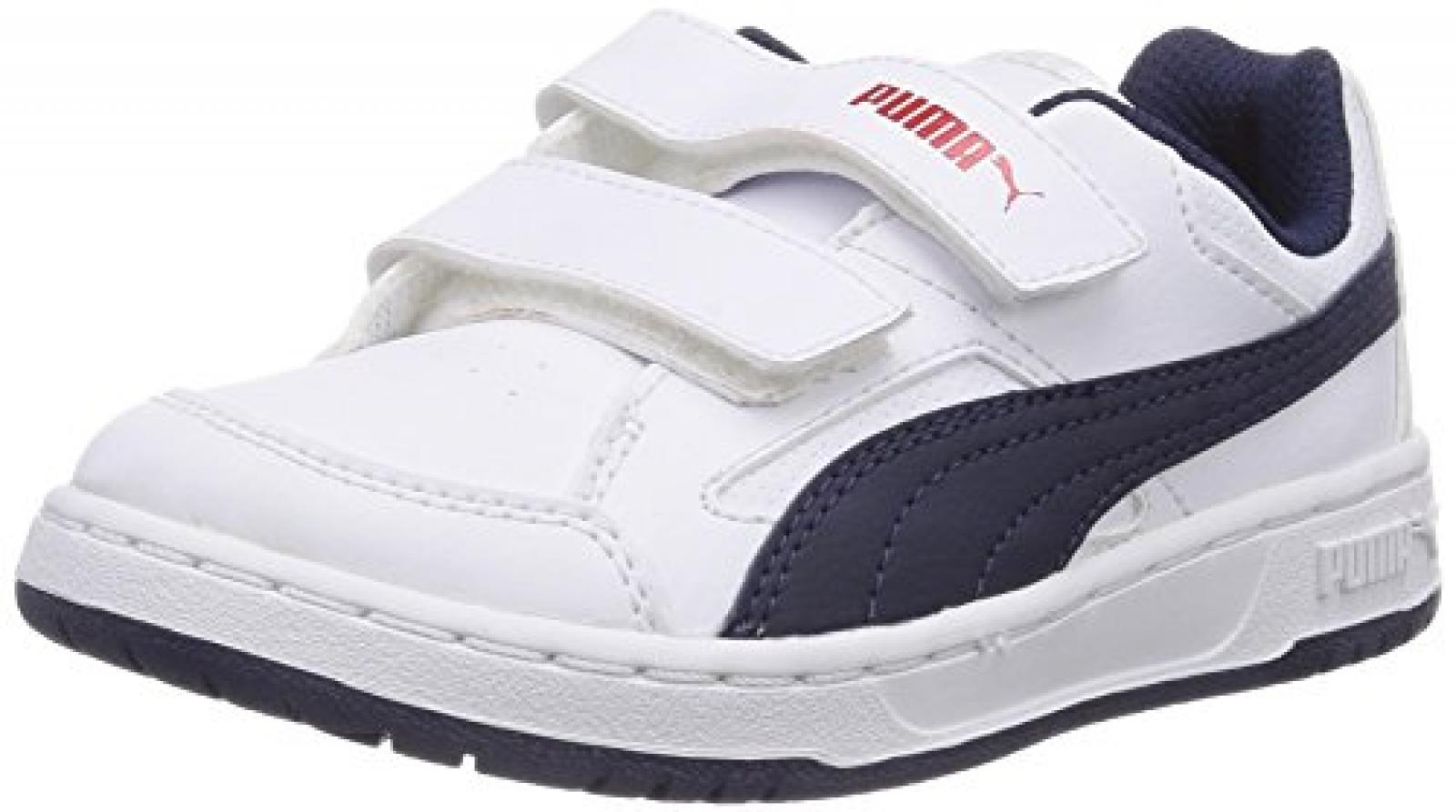 Puma Rebound v2 Lo Unisex-Kinder Sneakers