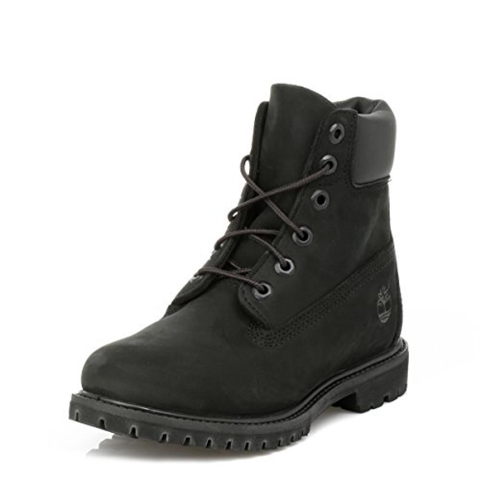 Timberland Damen Schwarz Premium 6 Inch Boots