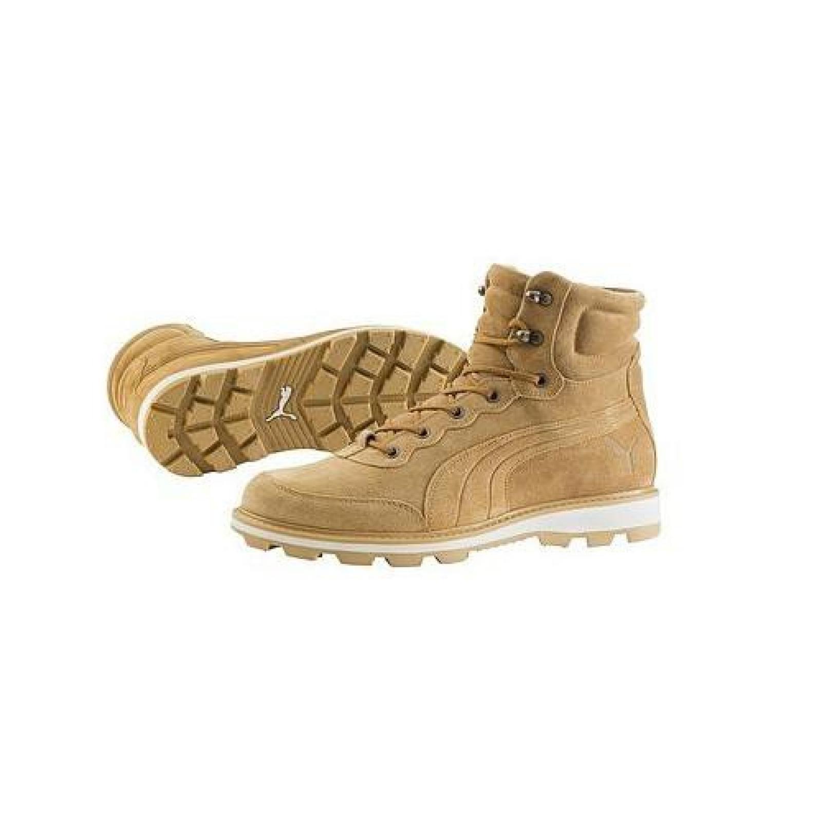 Puma Herren Schuhe Leder Boots Stiefel Winterschuhe DESIERTO BRIA cashew