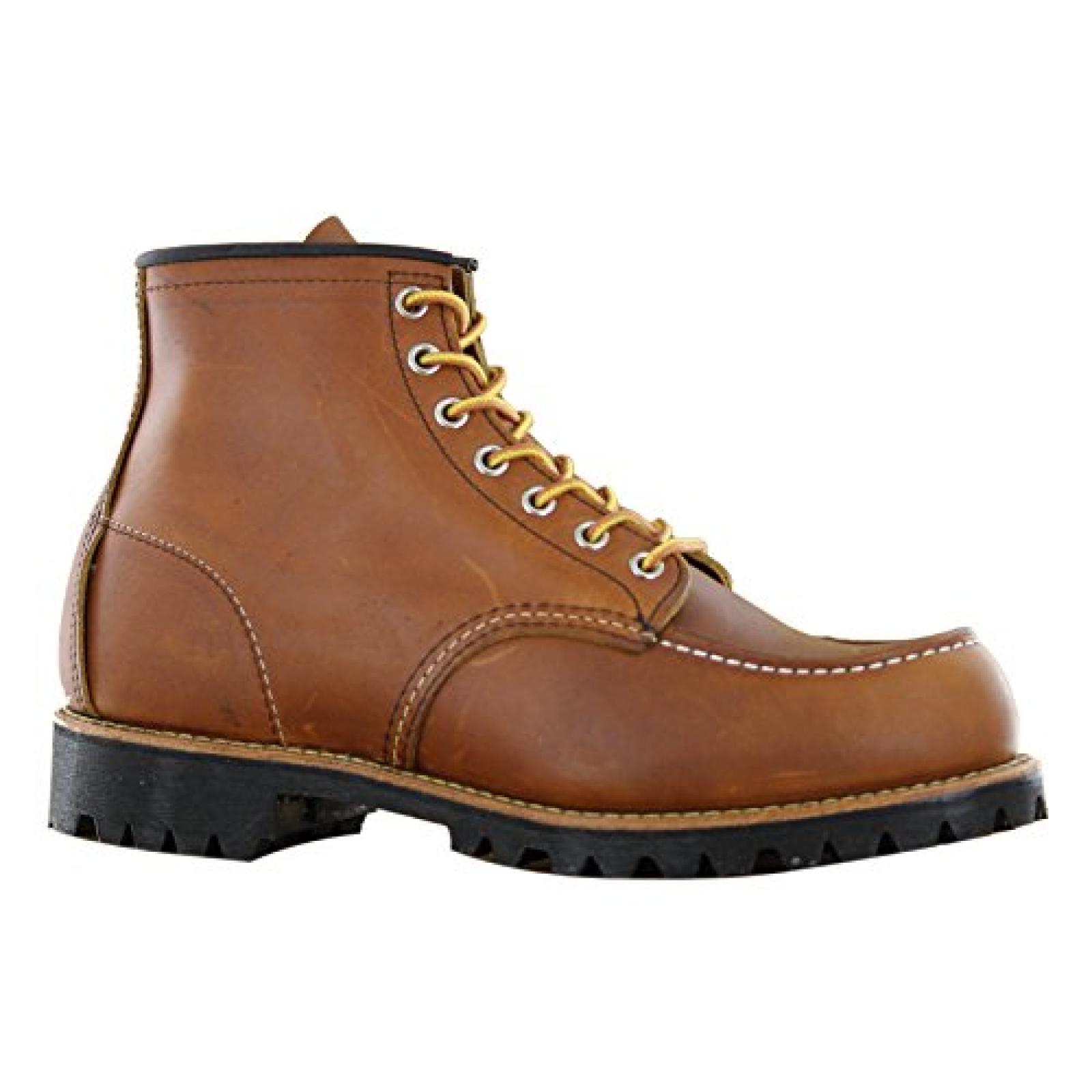 Red Wing Moc Toe Boots - Brown