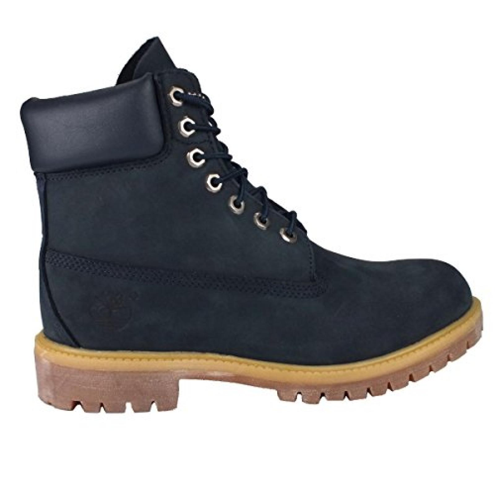 "Timberland 6"" Premium Boot Navy 6163A"