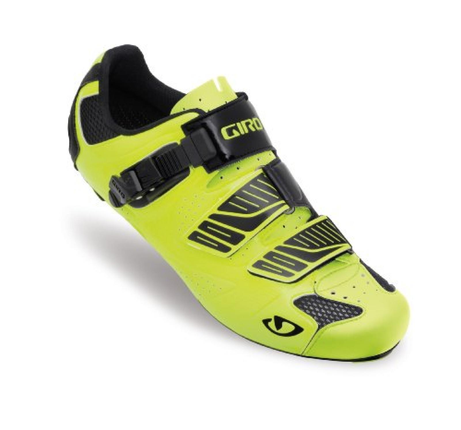 Giro Factor Rennrad Fahrrad Schuhe gelb/schwarz 2013