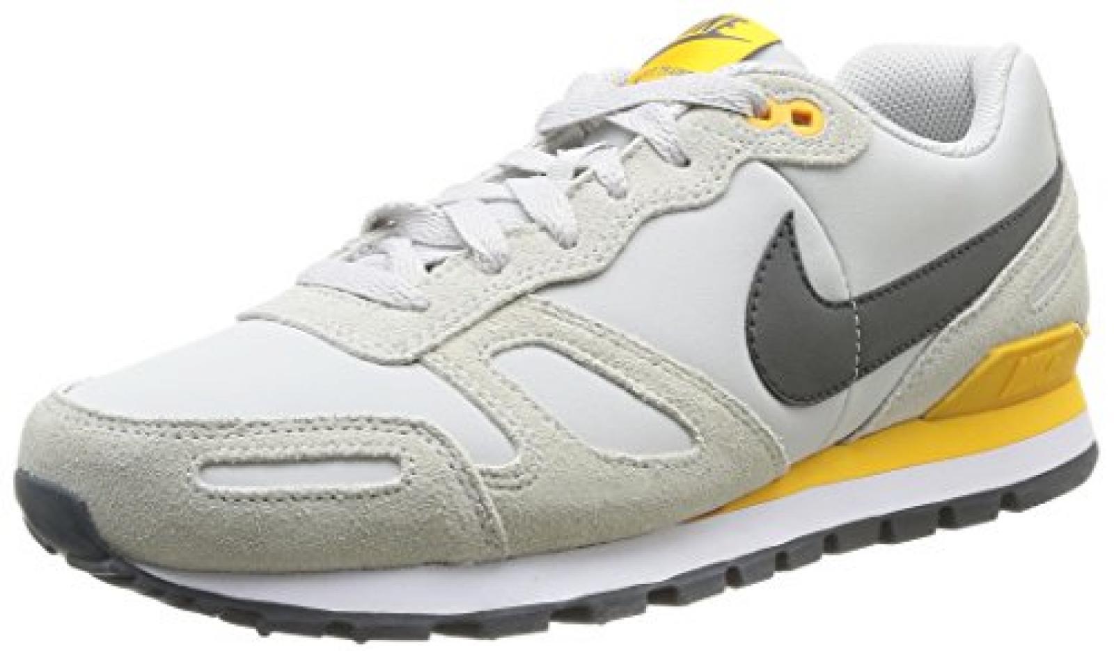 Nike Air Waffle Trainer Leather 454395 Herren Low-Top Sneaker