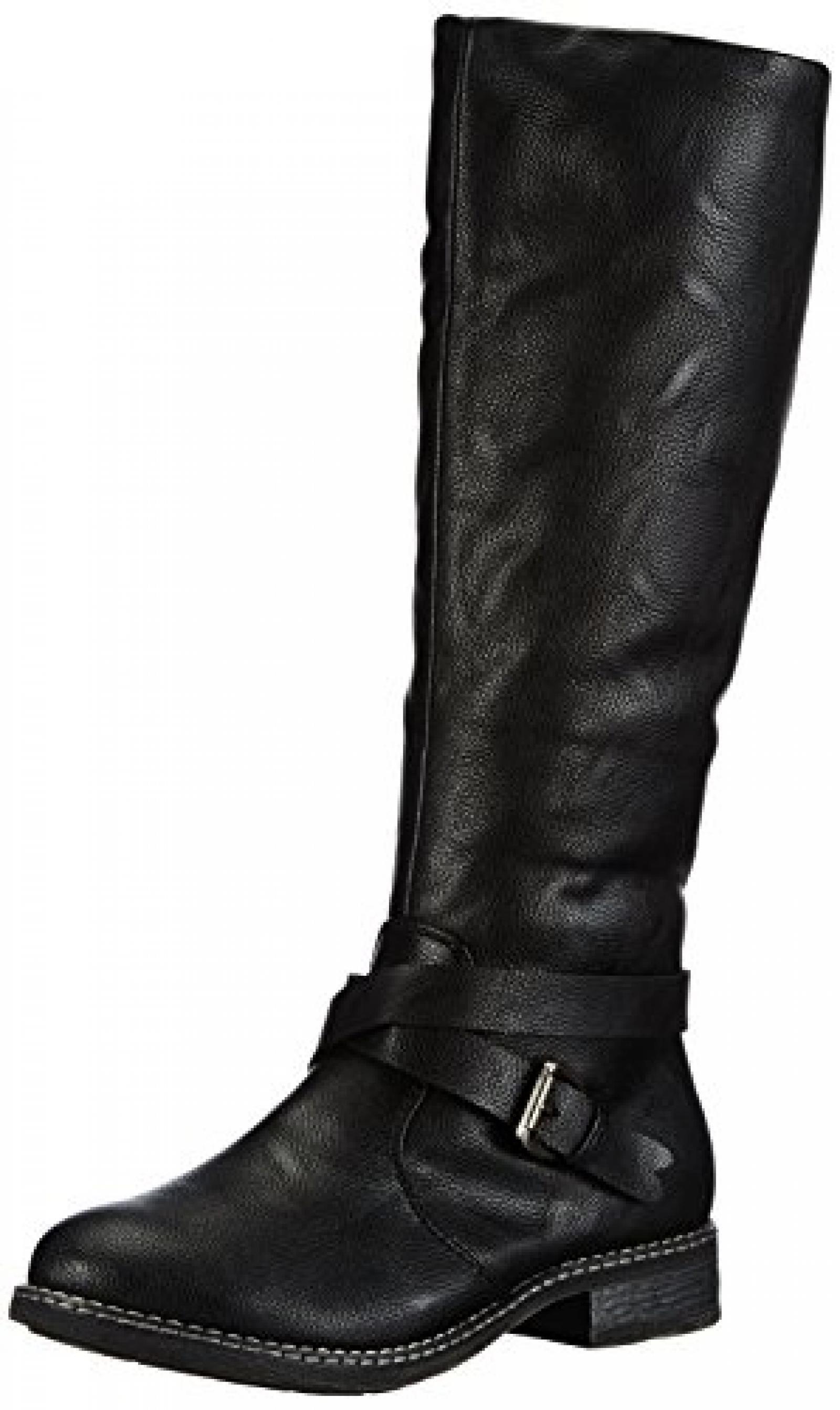 Rieker 94852-00 Damen Langschaft Stiefel