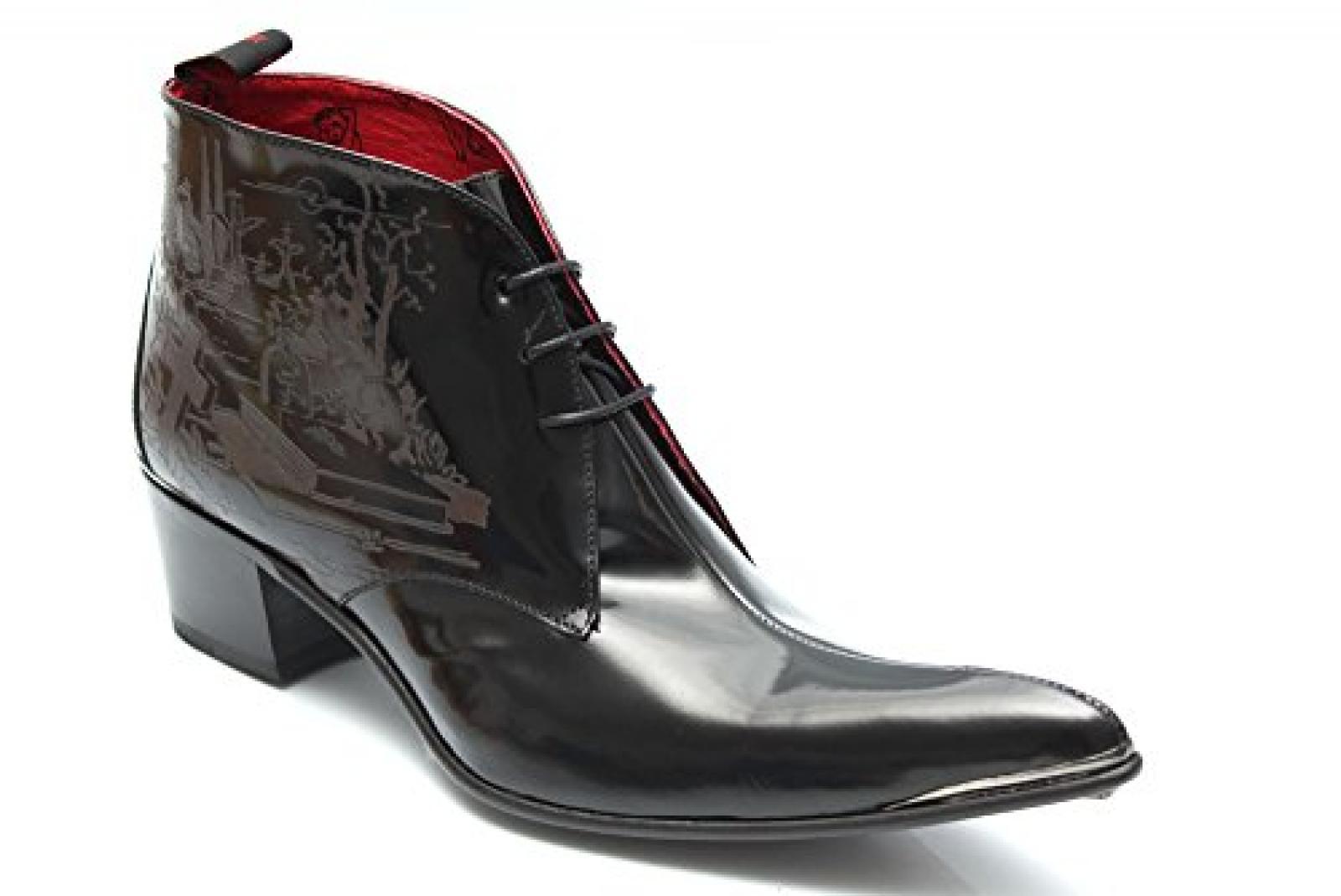 Jeffery West Muse Graveyard G0756Ap - Herren Ankle Boots - Kuba-Absatz