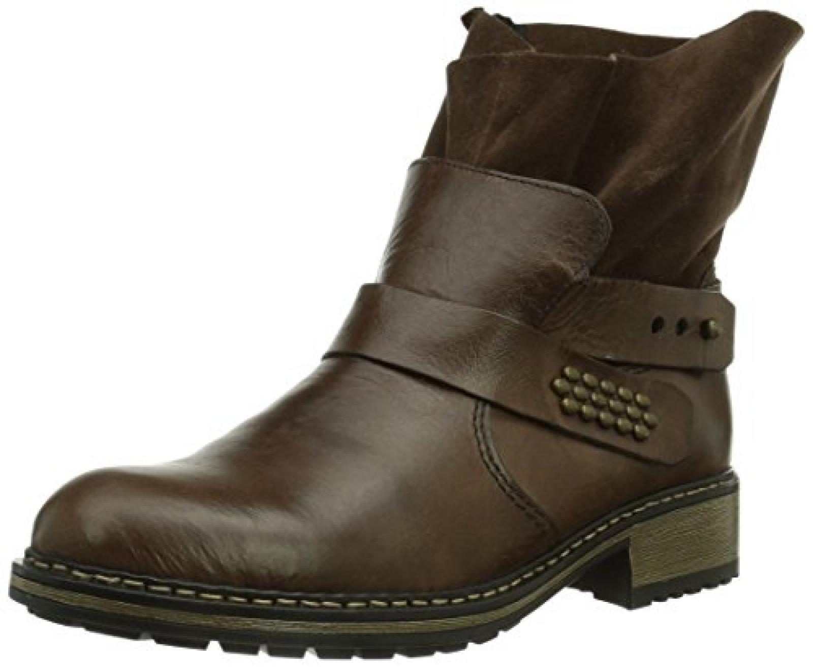 Rieker Z6862-25 Damen Halbschaft Stiefel