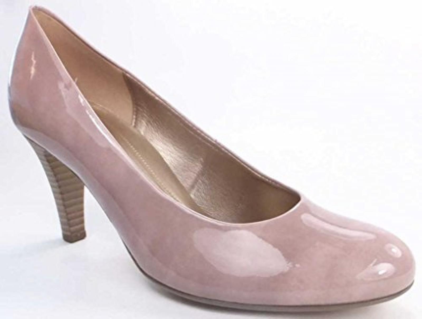 GABOR - Damen Pumps - Lack Beige Schuhe in Übergrößen