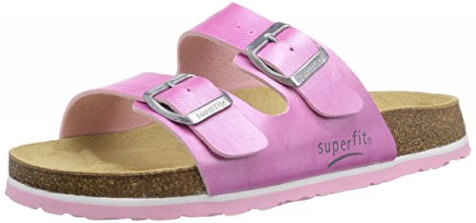 Superfit FUSSBETTPANTOFFEL 400111 Mädchen Pantoffeln