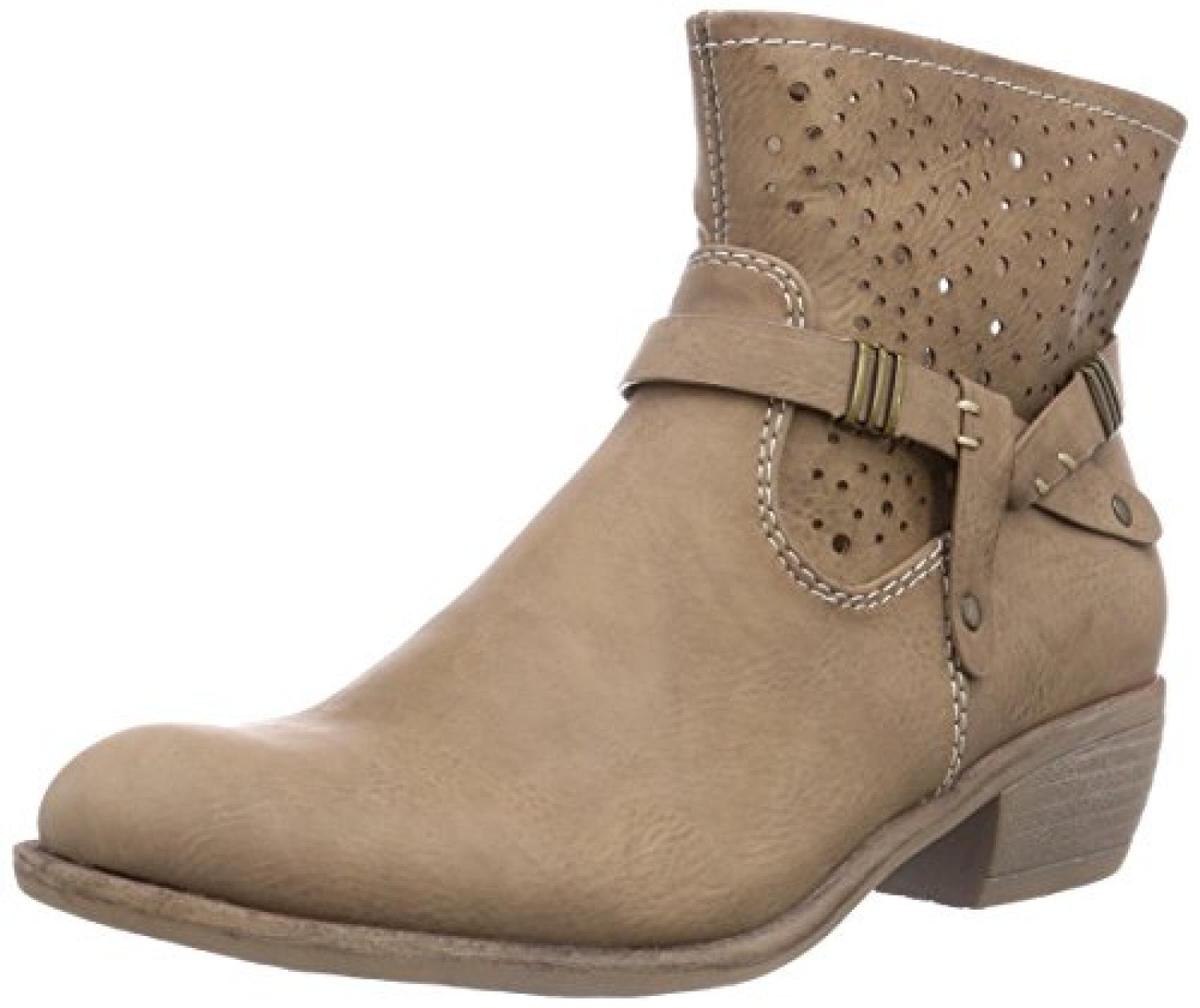 Rieker 91967 Damen Halbschaft Cowboystiefel