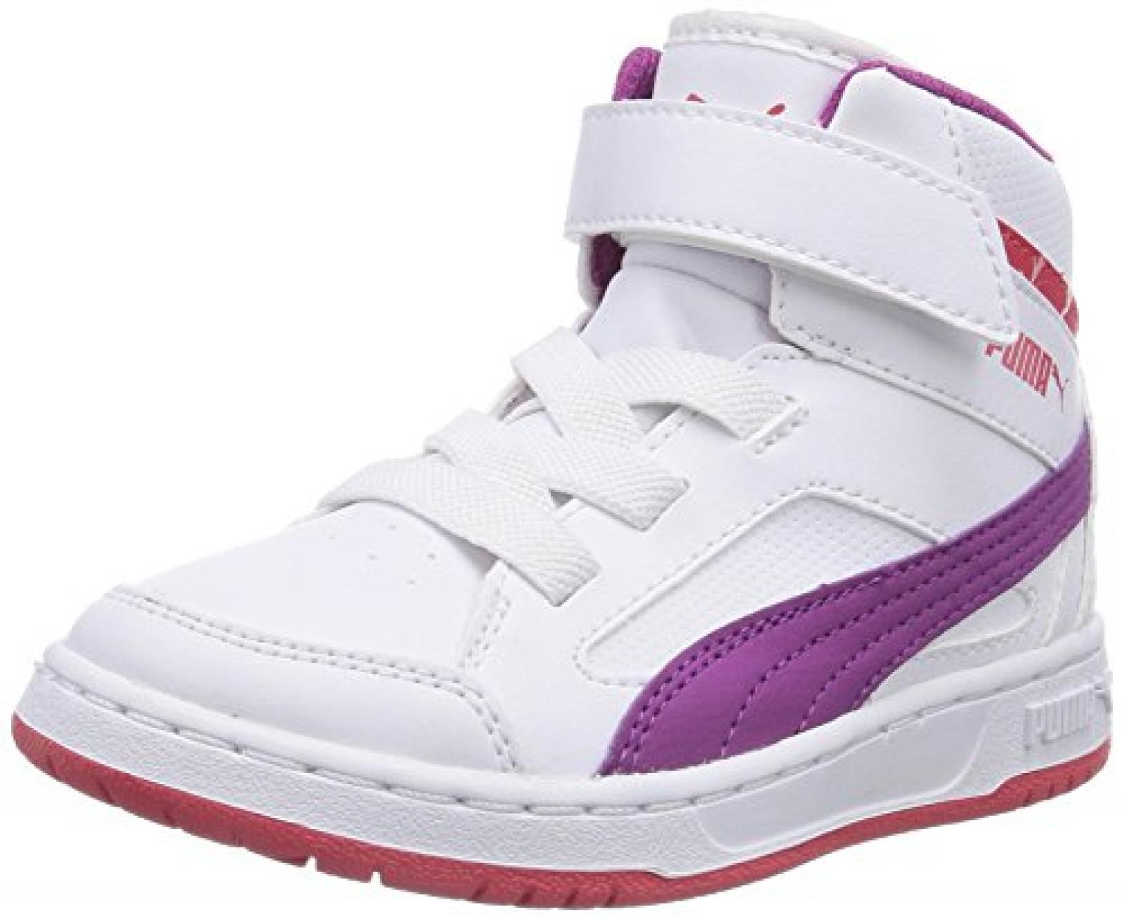 Puma Rebound v2 Hi Unisex-Kinder Hohe Sneakers