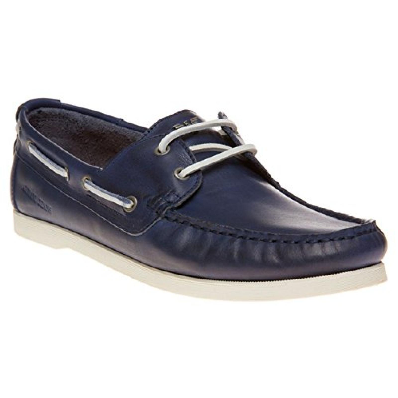 Armani Jeans Boat Shoe Herren Schuhe Blau
