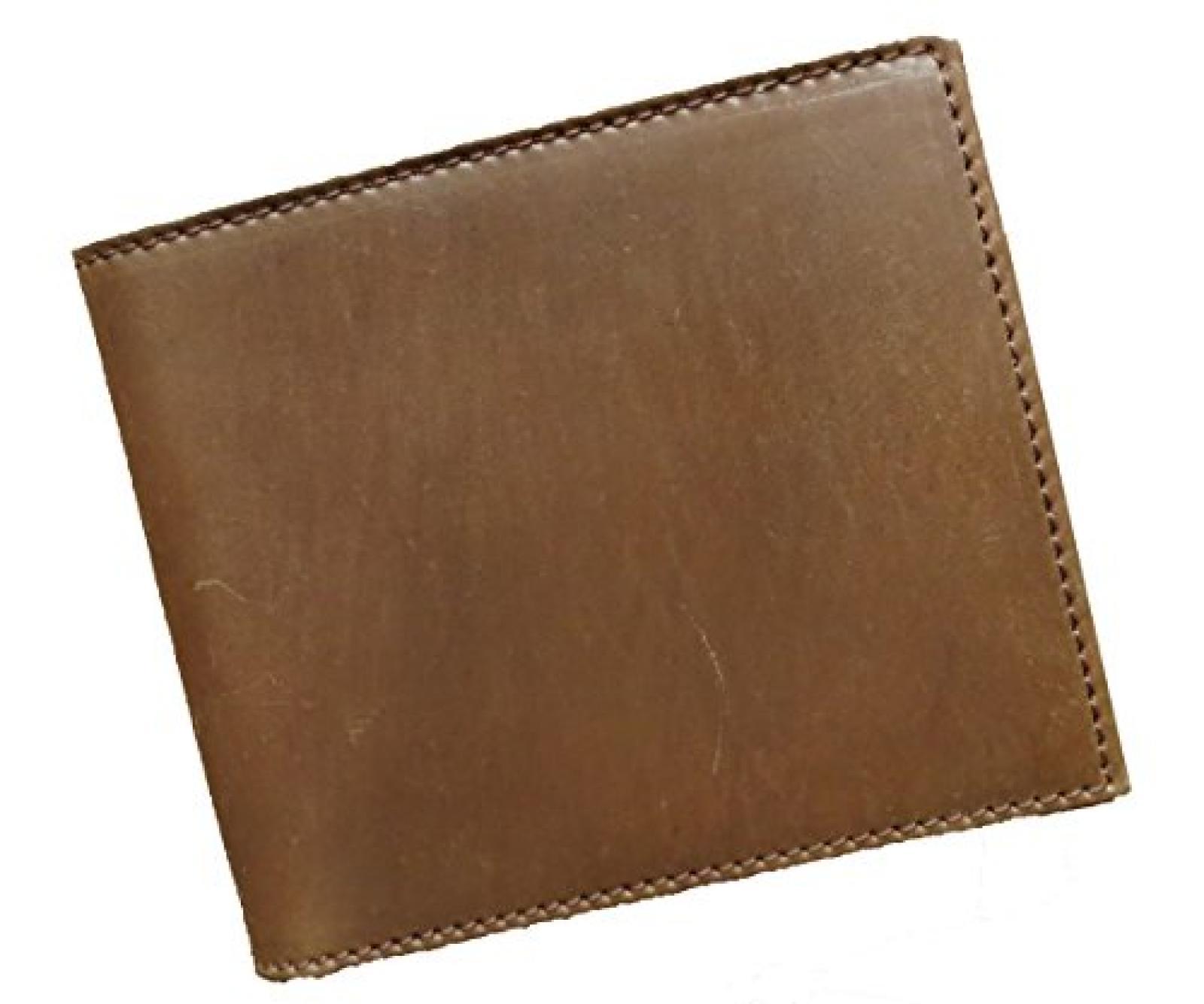 Horween Shell Cordovan Geldbörse Portemonnaie mit Münzfach whisky (vintagebraun)
