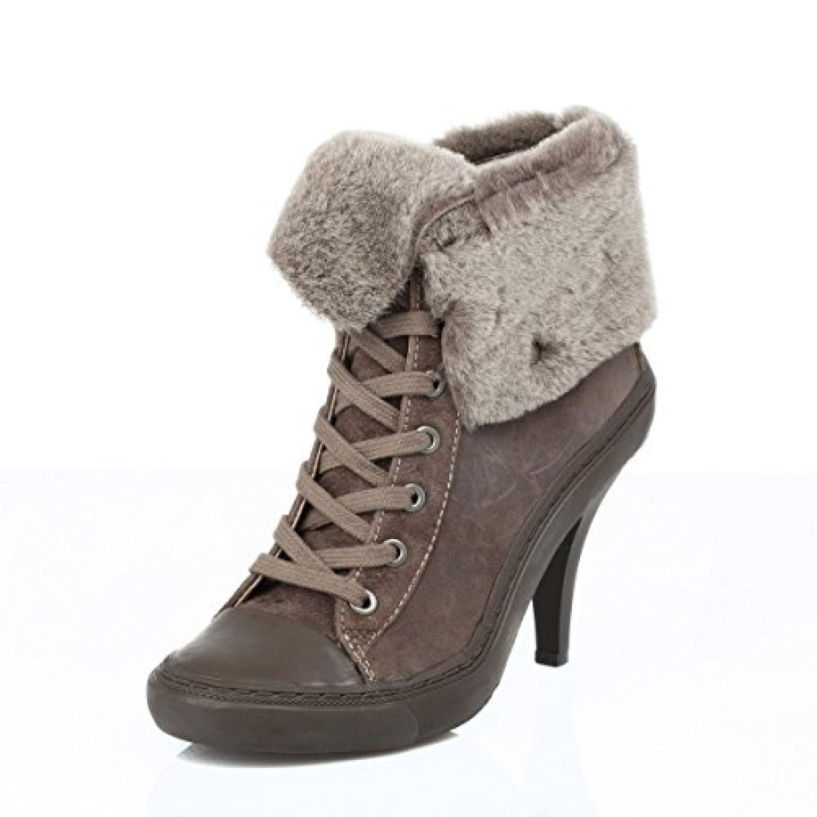 Ash Damen braun Panda Reverse Boots