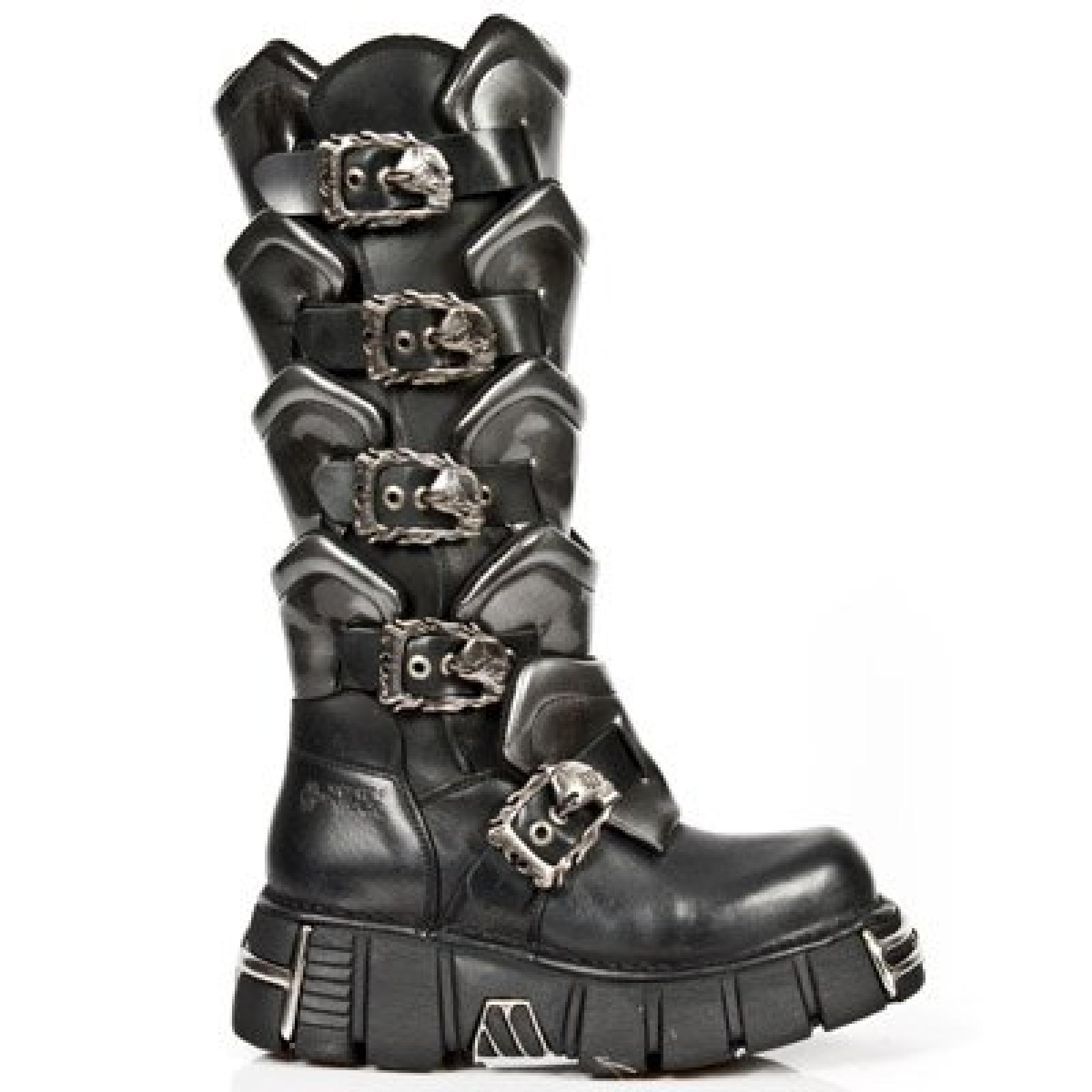 NEW ROCK LEDER BOOTS