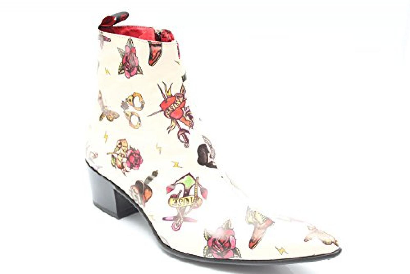 Jeffery West Muse G0757G - Herren Ankle Boots mit Absatz - Leder - Bilder