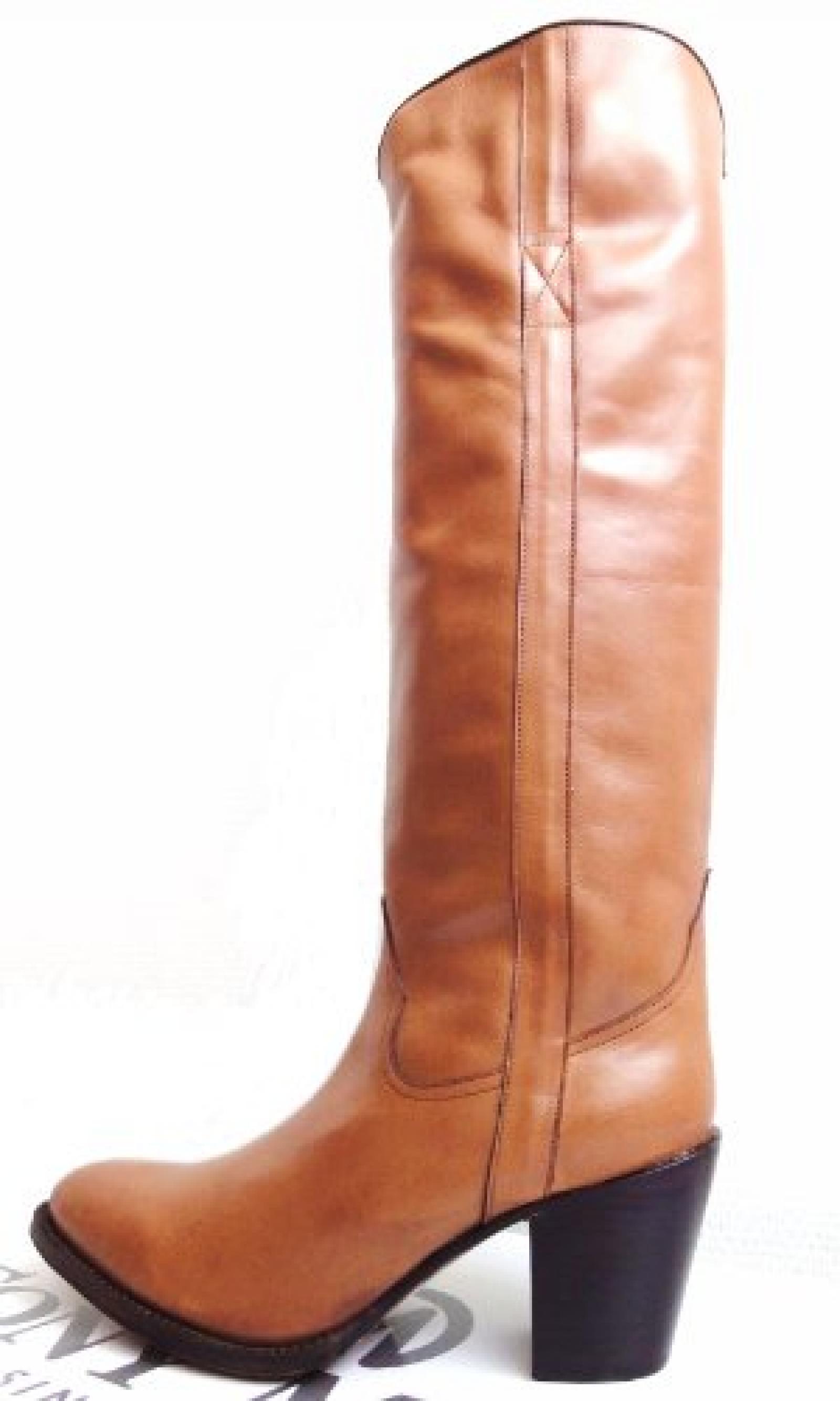 Tony Mora Fashion Stiefel Irene Ranger 447, Damen Stiefel Cognac