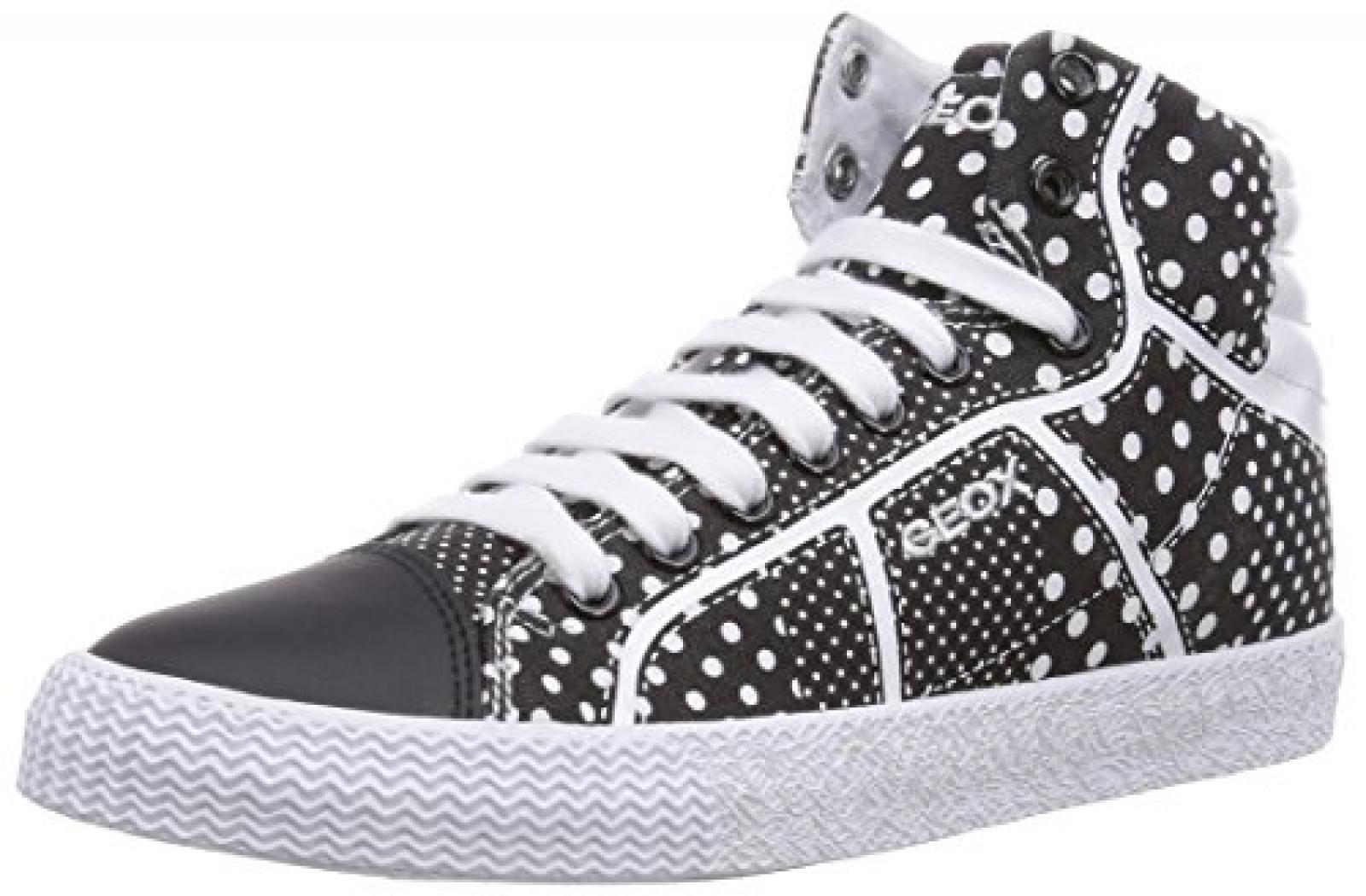 Geox J SMART C Mädchen Hohe Sneakers