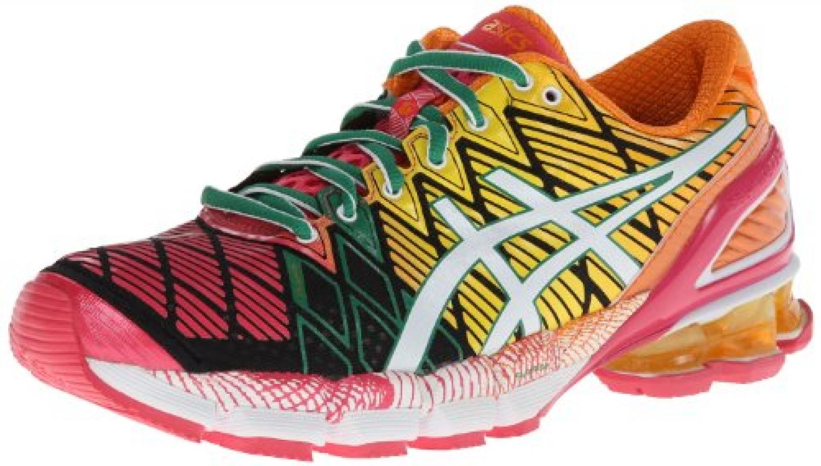 Asics - Frauen-Gel-Kinsei 5 Schuhe, EUR: 44, Black/White/Pink