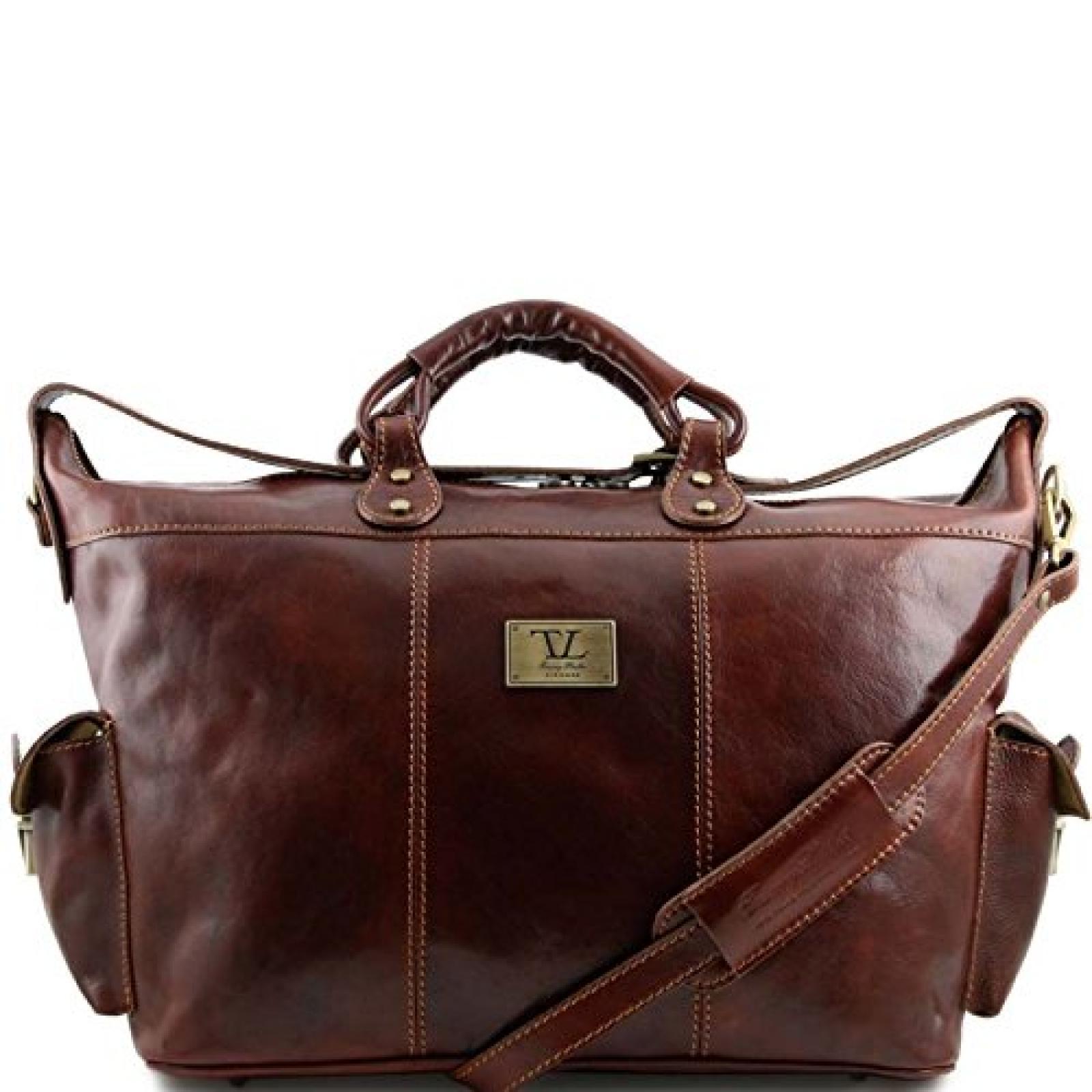 Tuscany Leather - Porto - Reisetasche aus Leder Braun - TL140938/1