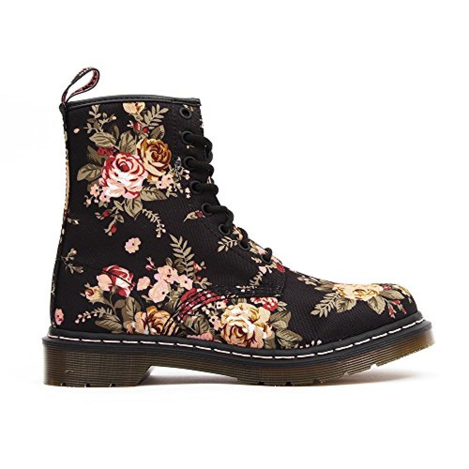 Dr. Martens 1460 Victorian Flowers Damen Bootsschuhe