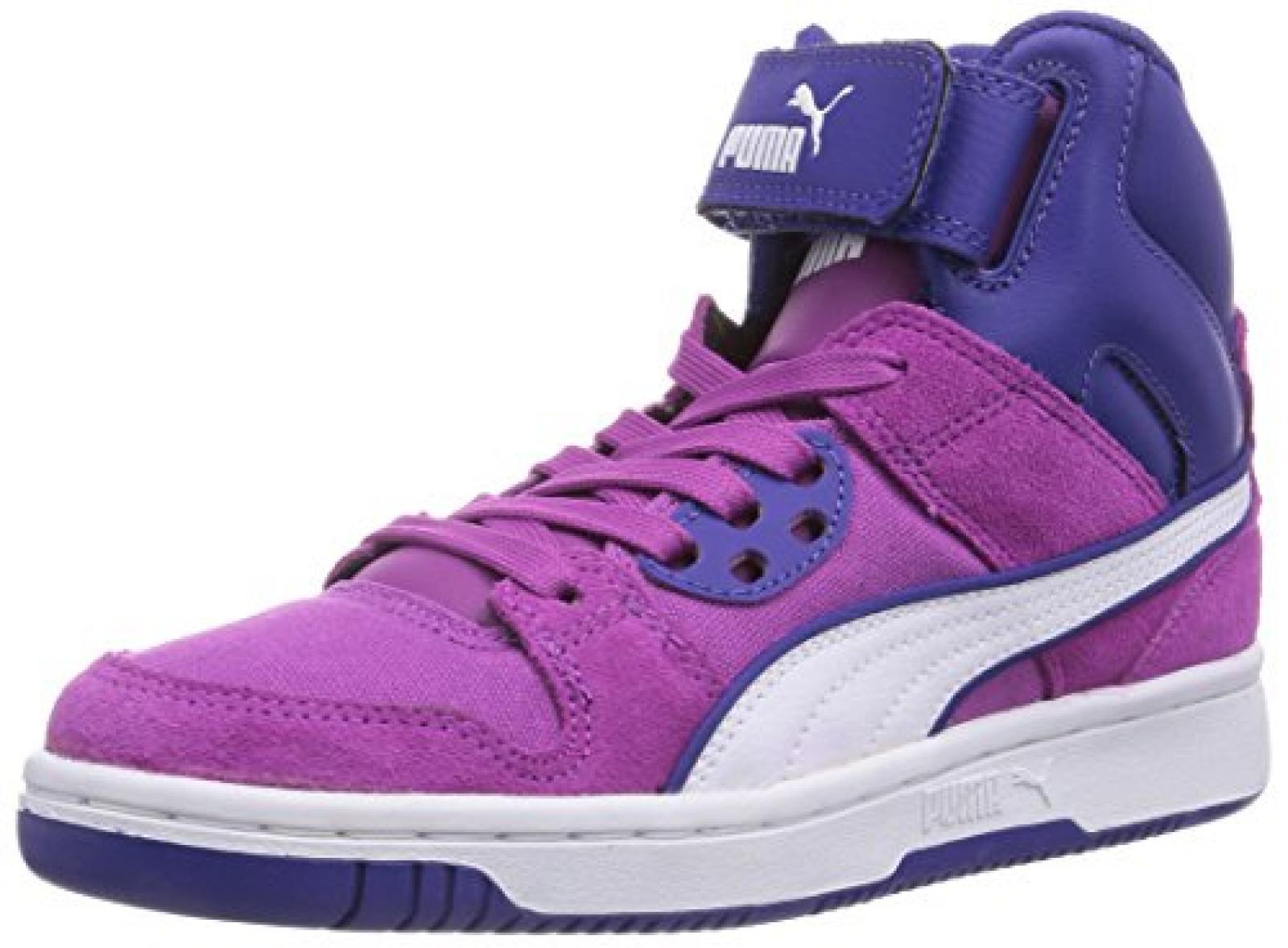 Puma Rebound Street CVS Unisex-Kinder Hohe Sneakers