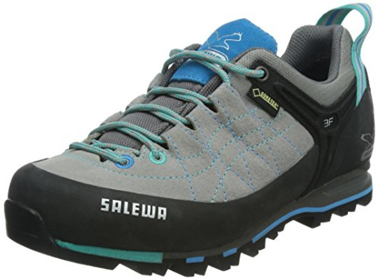 new concept f5645 dec82 SALEWA WS MTN TRAINER GTX PELLE Damen Trekking ...