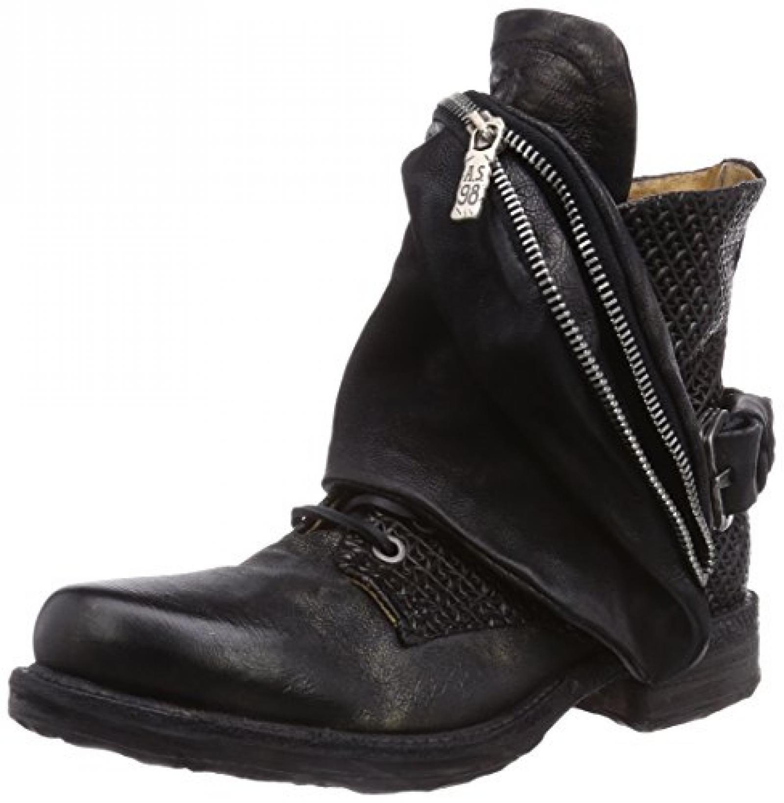 A.S.98 520206-1010-6002 Damen Biker Boots