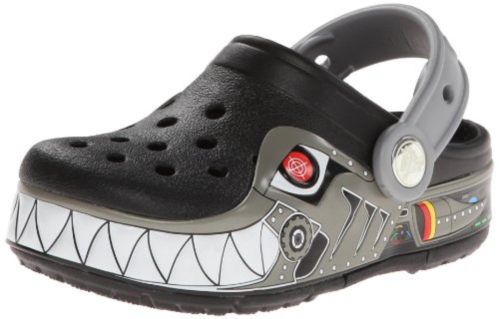 crocs CLightRboShrkPS Jungen Clogs