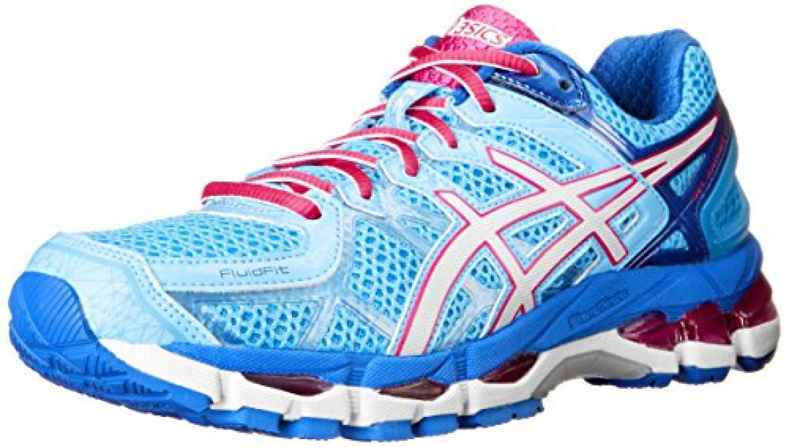Asics - Frauen-Gel-Kayano 21 Schuhe, EUR: 36, Powder Blue/White/Hot Pink