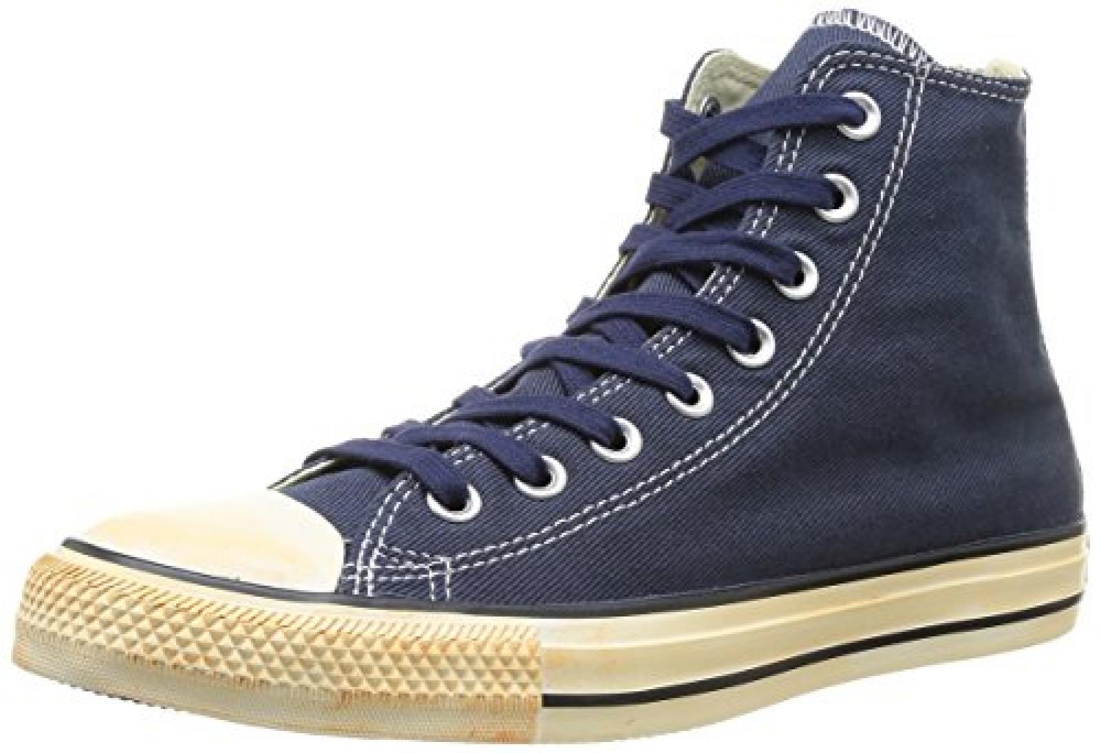Converse Chuck Taylor All Star Homme Vintage Washed Back Zip Twill Hi 381790 Herren Sneaker